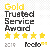 2019 Feefo Gold Trusted Service Award