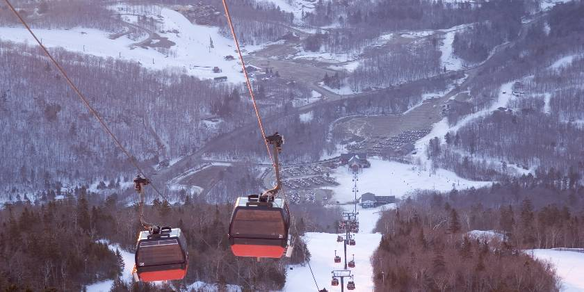 ski resoirt