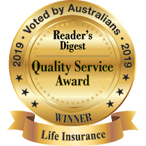 2019 Reader's Digest Life Insurance Award Winner