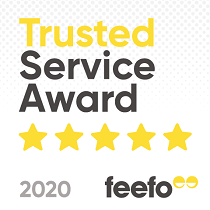 Feefo Trusted Service Award – 2020