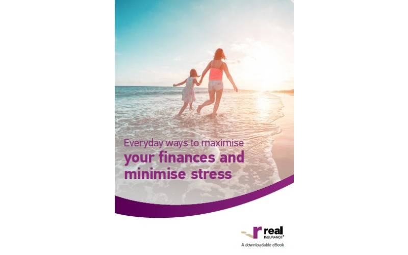 eBook cover of Everyday ways to maximise your finances and minimise stress