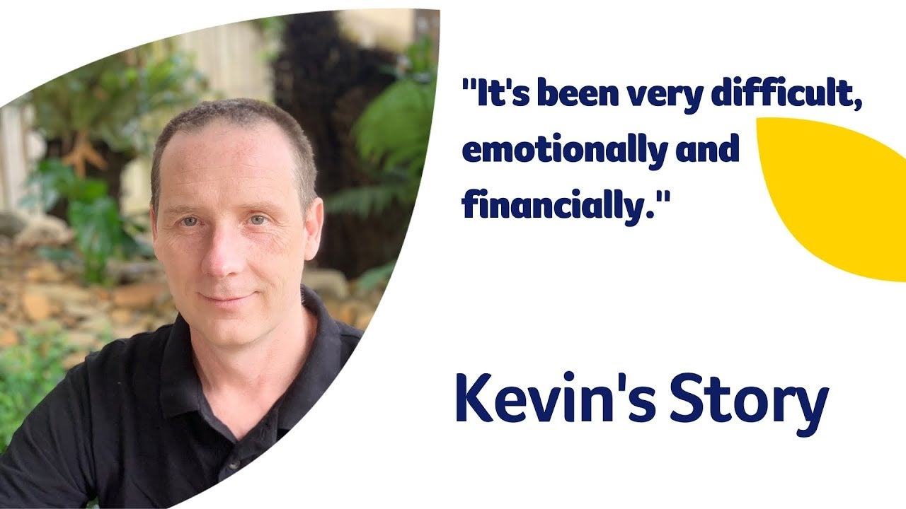 The dangers of silica dust inhalation: Kevin's story | Cancer Council
