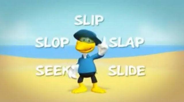 Slip Slop Slap Seek Slide - Sid the Seagull
