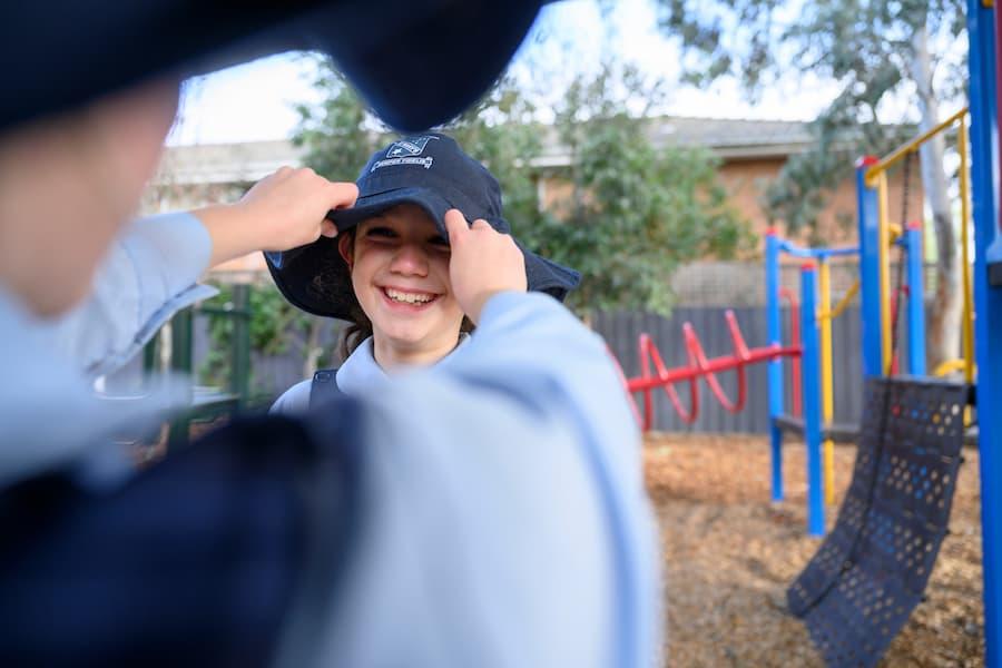 SunSmart school programs in Tasmania