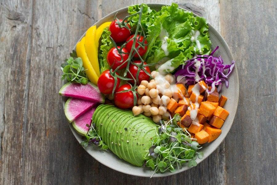 Vegetables, fruit and legumes