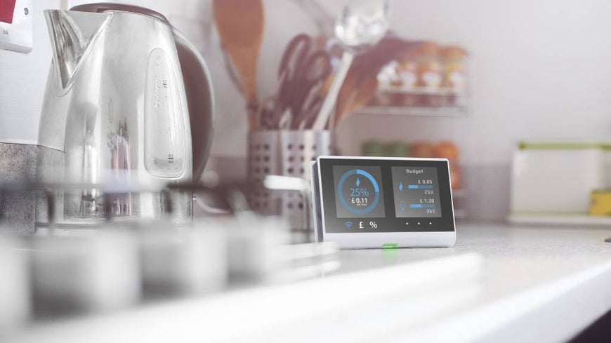 Smart meter for electricity in the kitchen