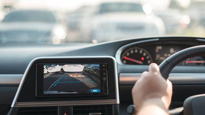 dashboard technology inside car