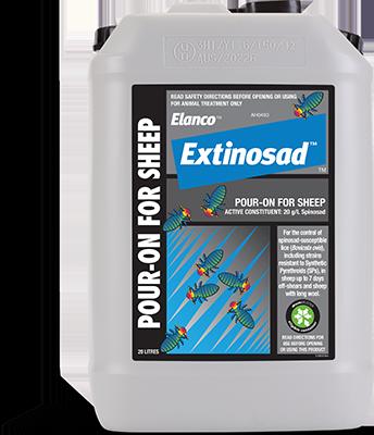 Extinosad Pour-On 20L Drum