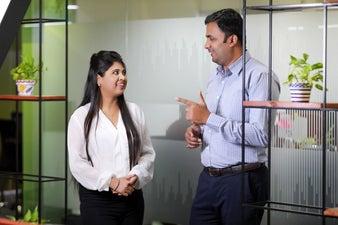 Aarohi & yathish discussing