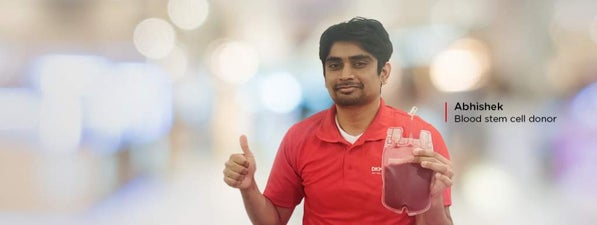 Abhishek - blood stem cell donor