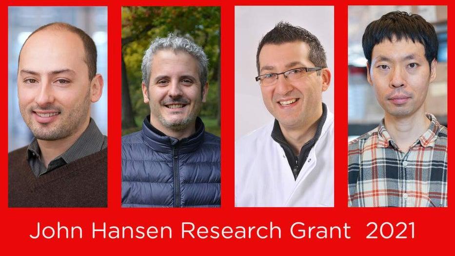John hansen grant winners