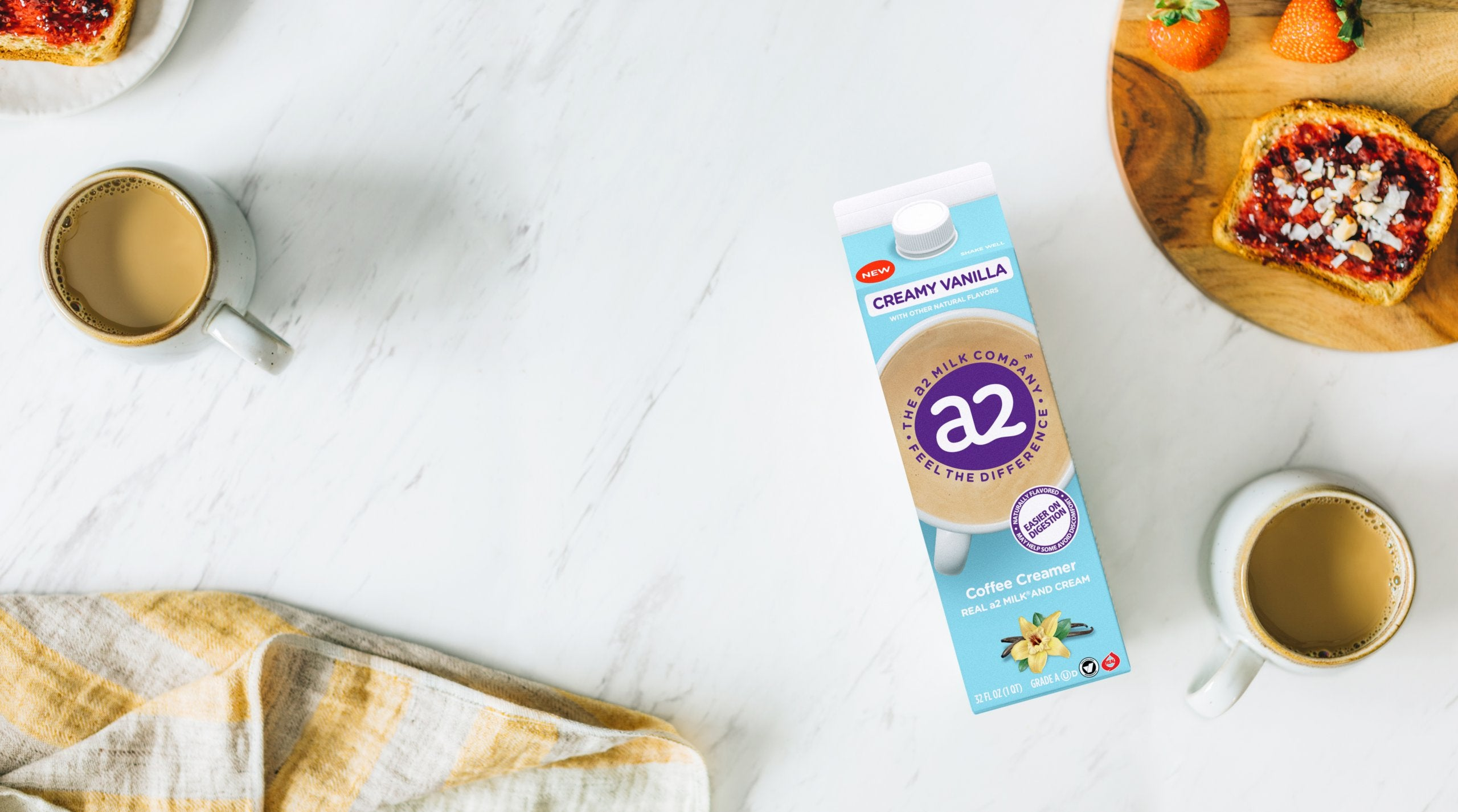 Our favorite ways to use our new a2 Milk® coffee creamer