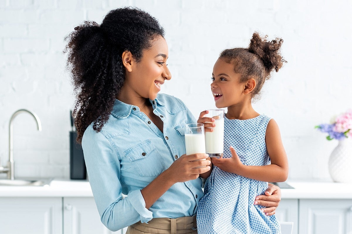 The complete nutrition package of milk