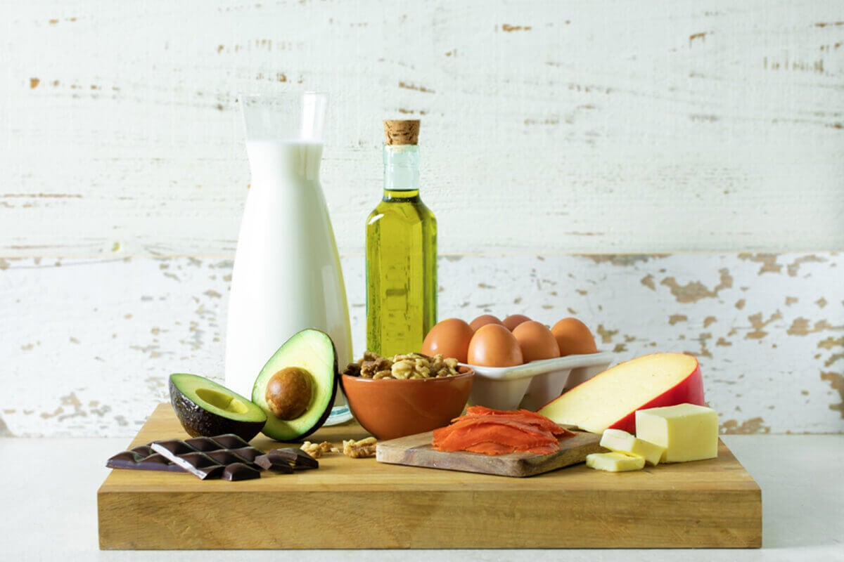 4 Foods with Healthy Fats