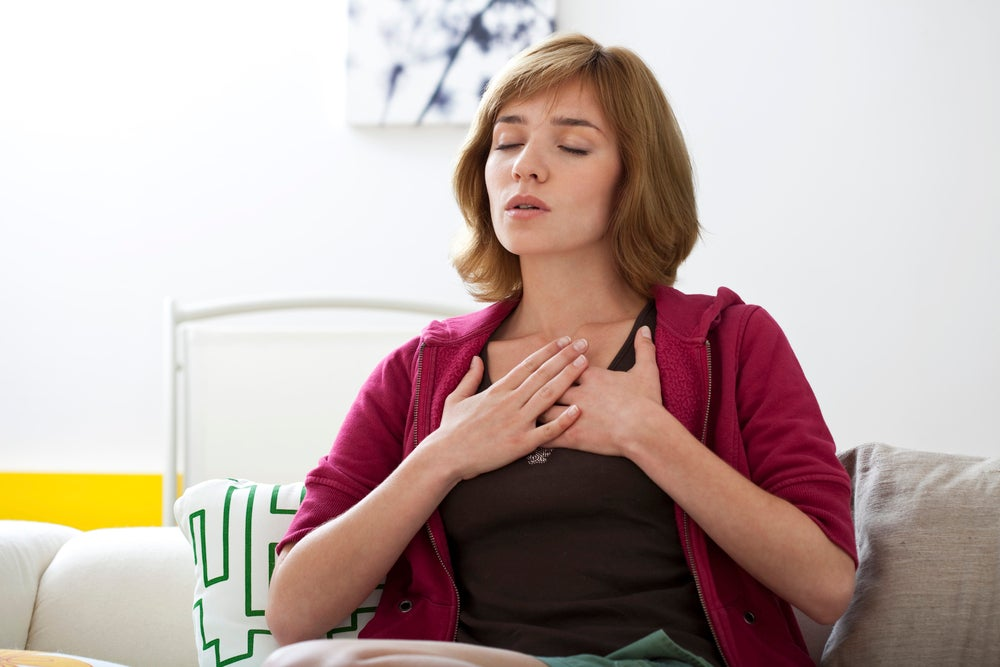 Simple breathing exercises to reduce mental stress