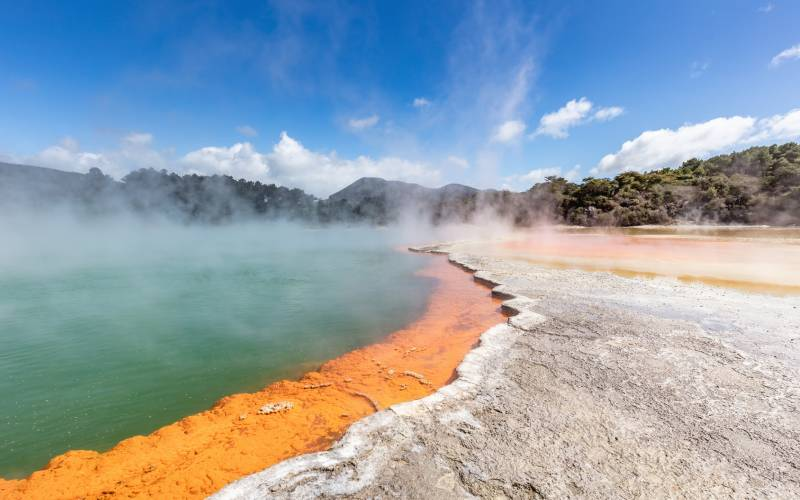 The Wai-O-Tapu Geothermal Reserve