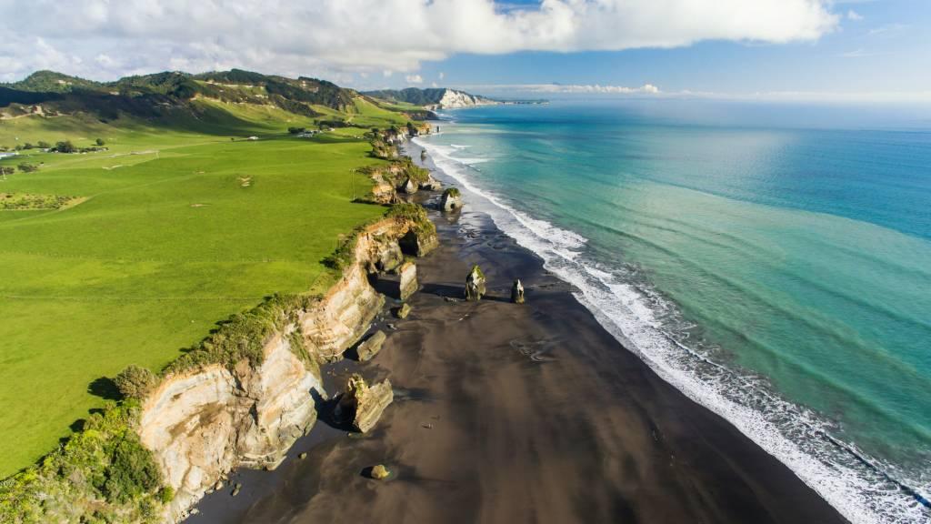 A beautiful scene in gorgeous New Zealand