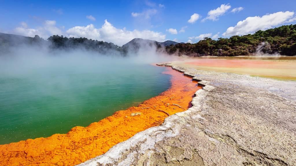 Waiotapu Thermal Wonderland in New Zealand