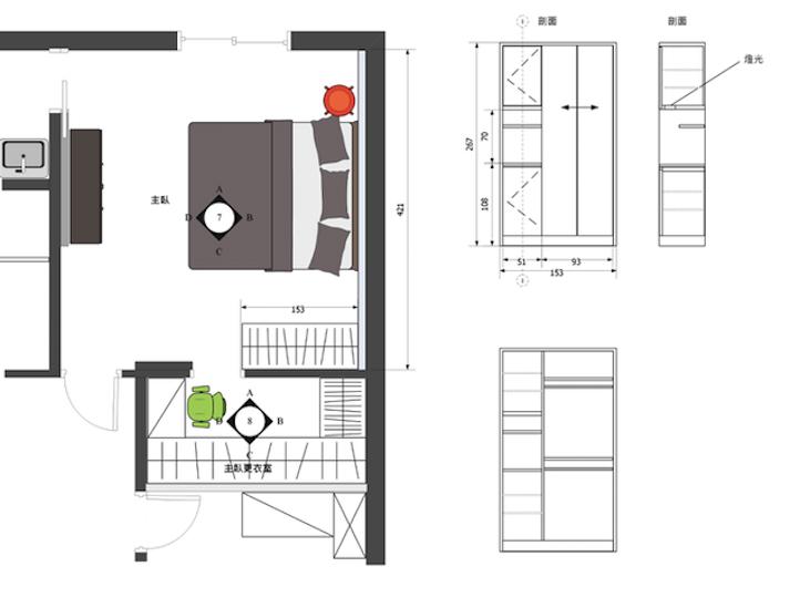 室內設計剖面圖