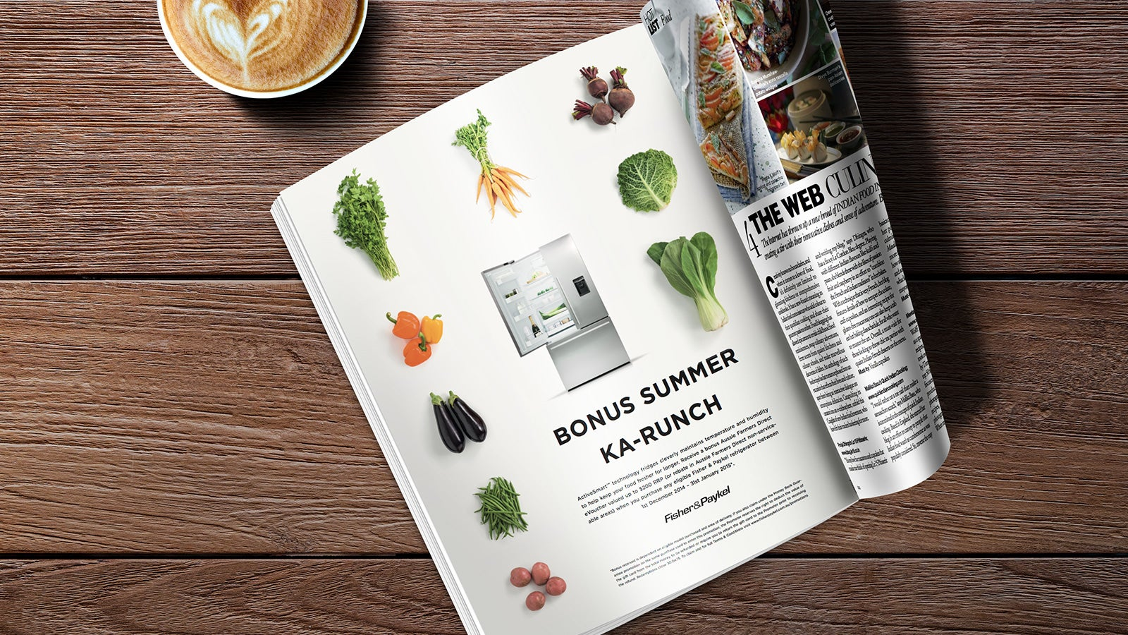 Fisher & Paykel | Ka-Runch Test campaign magazine advertisement | Devotion