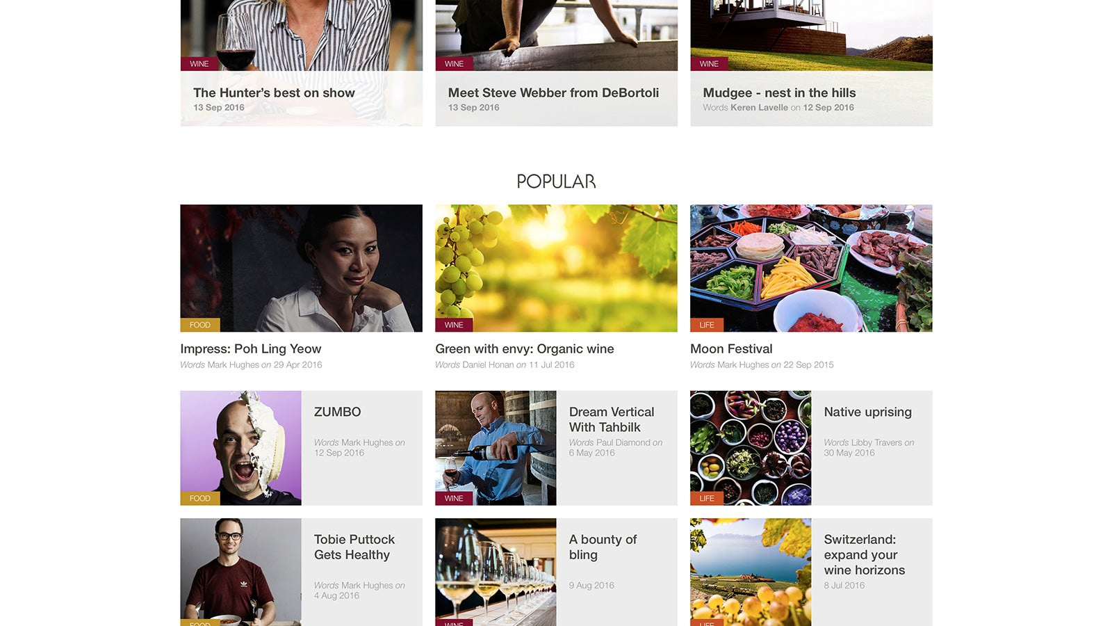 Wine Selectors | popular blog posts | Devotion
