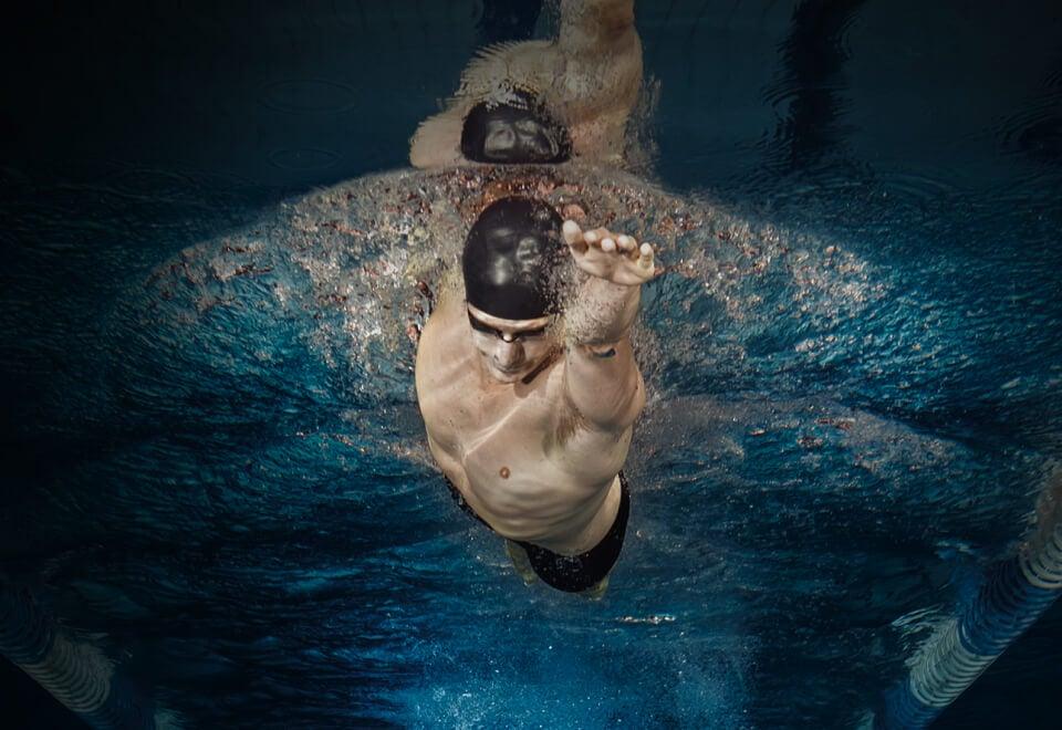 Australian Institute of Sport | man swimming | Devotion