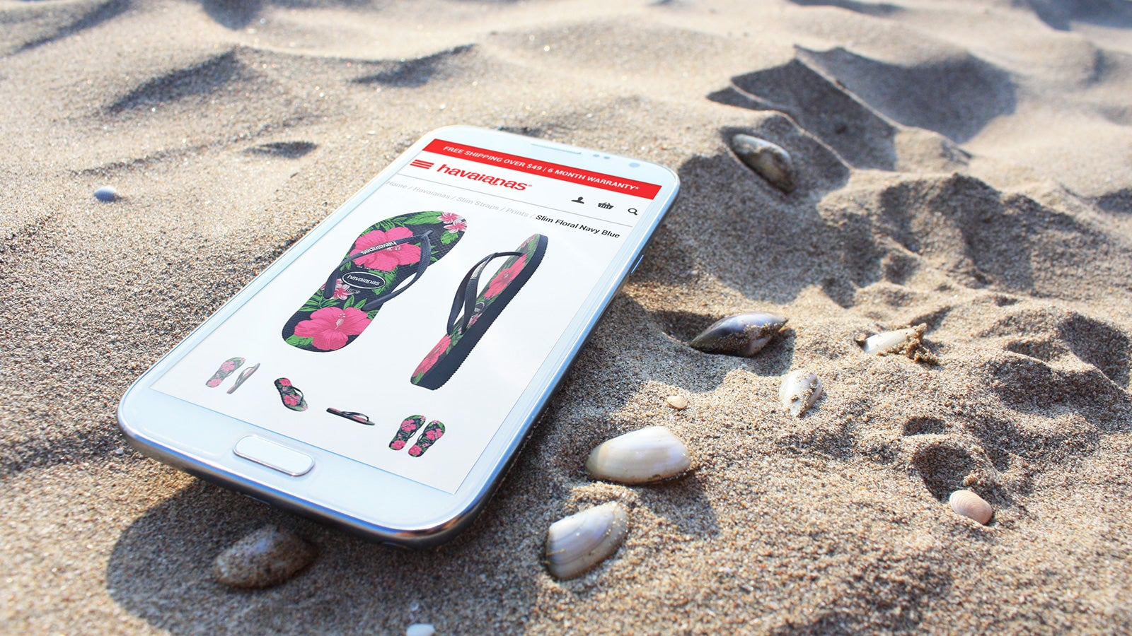 Havaianas | product page on mobile | Devotion