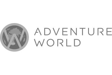 Adventure World black and white logo | Devotion