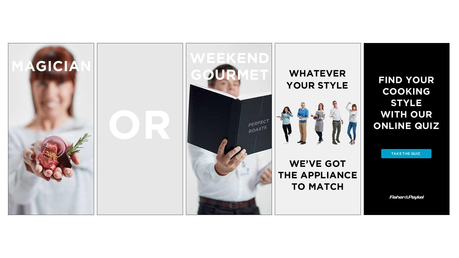 Fisher & Paykel | online display advertisement image gallery | Devotion