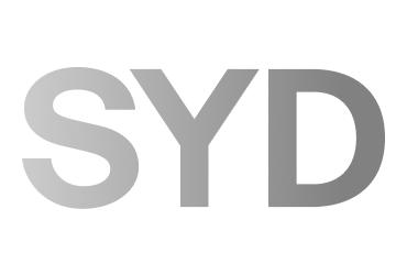 Sydney Airport black and white logo | Devotion