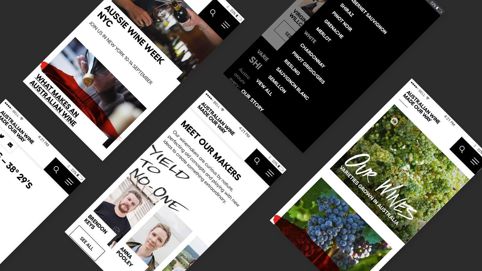 Australian Wine   mobile website   Devotion