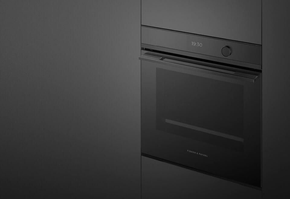 Fisher & Paykel | matte black oven | Devotion