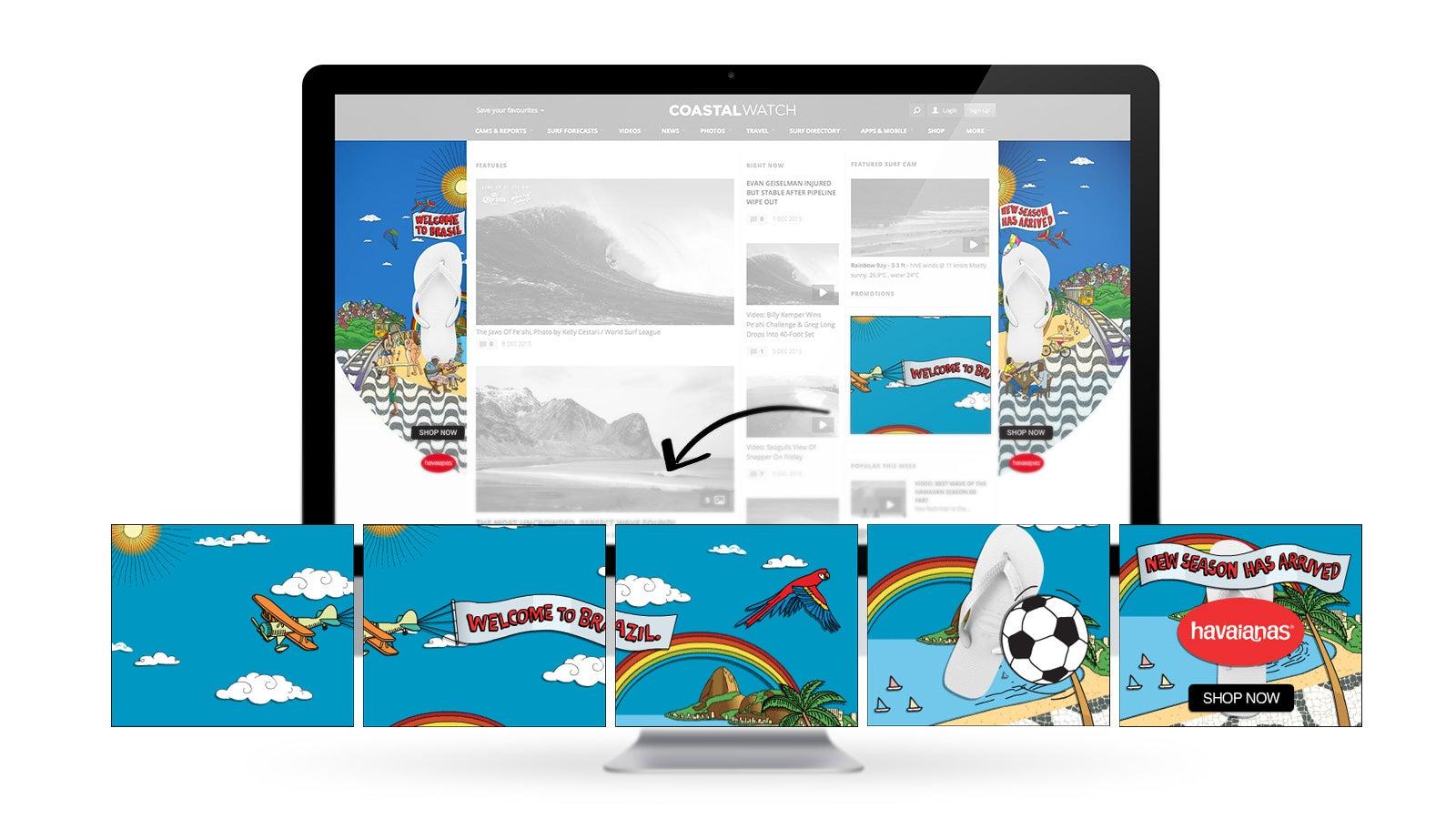 Havaianas | social media marketing images | Devotion