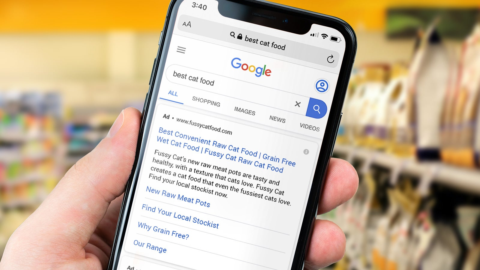 """Fussy Cat 