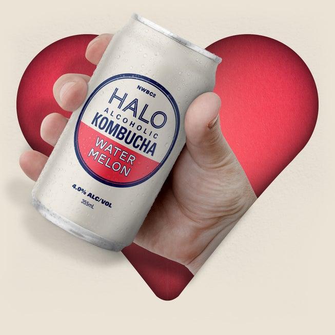 HALO Alcoholic Kombucha homepage feature image