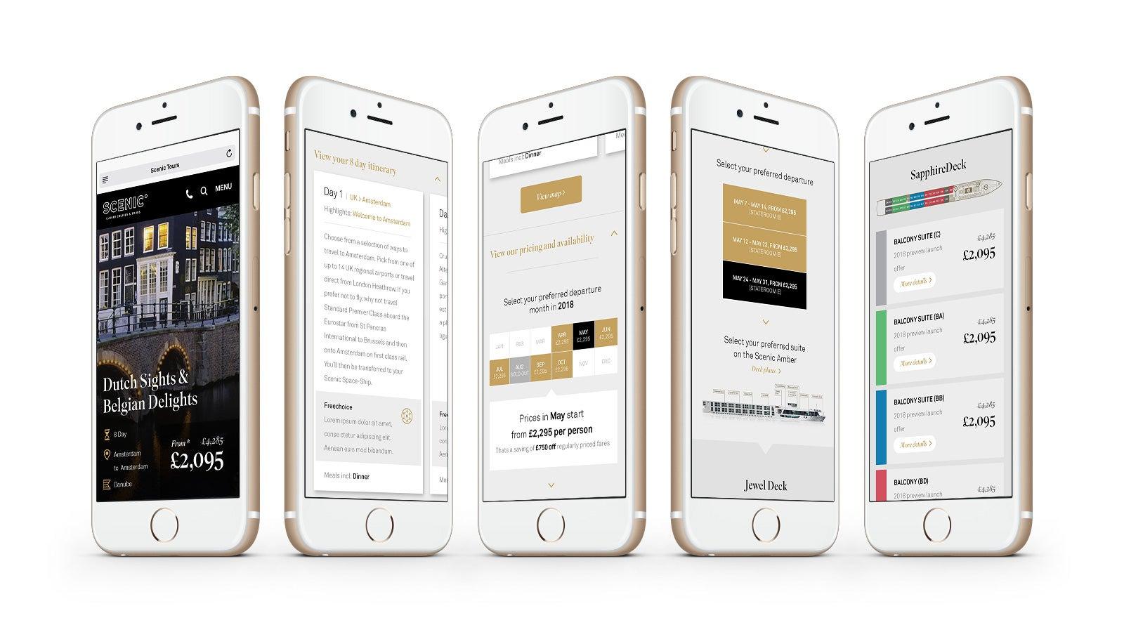 Scenic | Scenic mobile website | Devotion