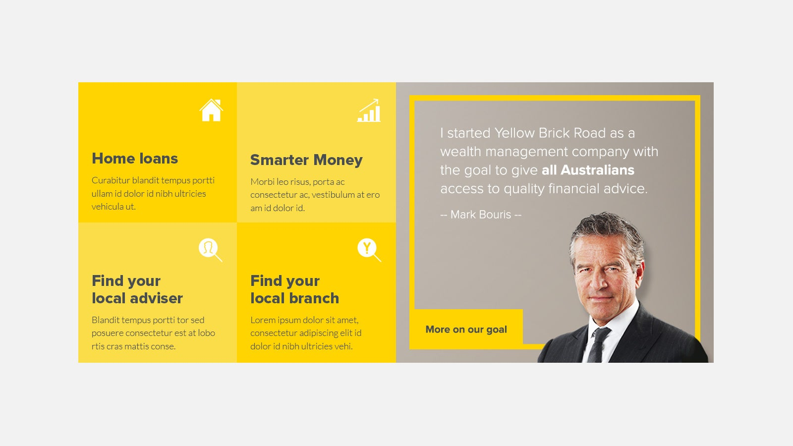 Yellow Brick Road | Yellow Brick Road website navigation options | Devotion