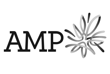 AMP black and white logo | Devotion